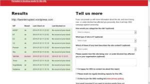 TalkTalk blocking the new blog